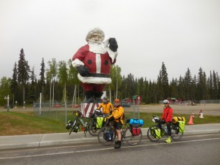 Santa and the crew