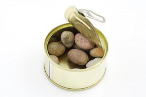 Can of stones