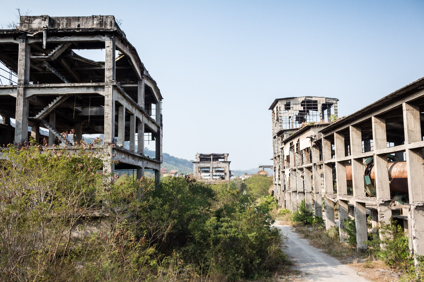 Abandoned Taiwan Cement Factory