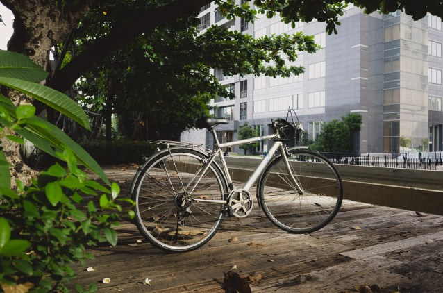 Second hand bicycle