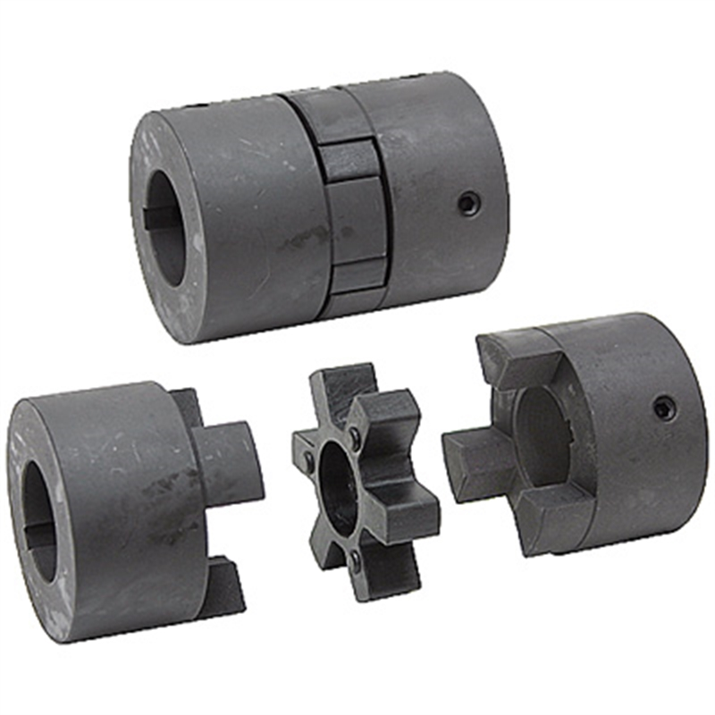 L-Jaw  Couplings Complete With Element Insert Solid Couplings L035 L050-150