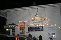 We went out to dinner at the Waterfront Depot in Florence.