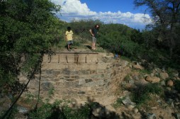 We stumbled across what was a bridge on an little used Forest Service Road about 50 miles from the nearest town.