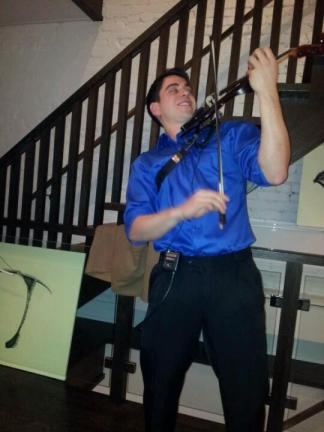 Electric Violin at Toronto Special Event 2013