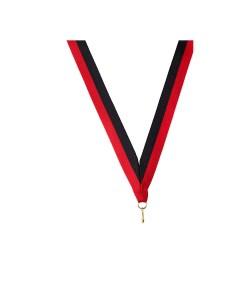 Medaille linten Rood Zwart