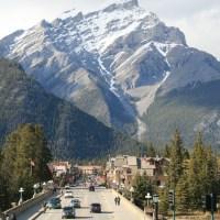 Cascade Mountain, Banff, Canada; 28-05-09