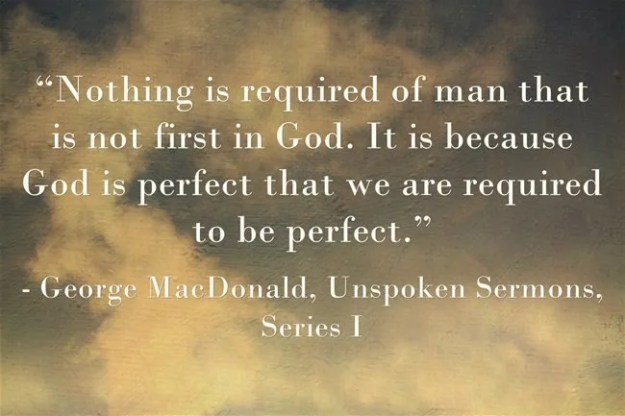 Nothing is required of man...