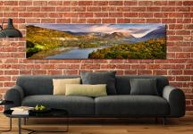 Grasmere Autumn Morning - Lake District Canvas on Wall