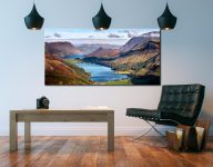 Buttermere and Crummock Water - Canvas Print on Wall