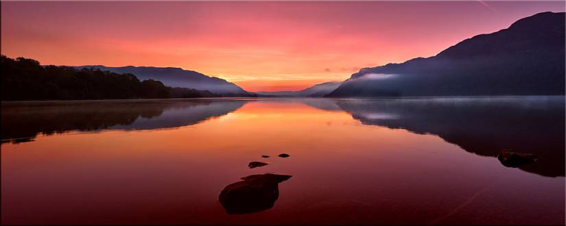 Ullswater Golden Sunrise - Canvas Prints