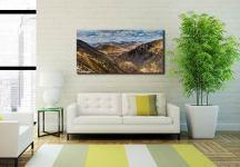 Grisedale Tarn Panorama - Canvas Print on Wall