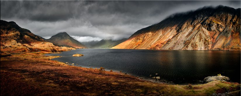 Sunlight on Wast Water - Canvas Prints