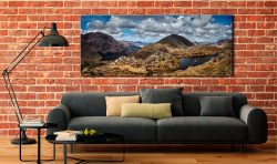 Pillar and High Crag from Haystacks - Canvas Print on Wall