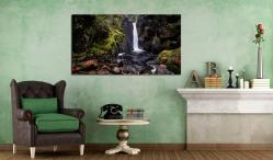 Stanley Ghyll Force - Canvas Print on Wall