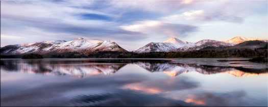 Colours of Dawn at Derwent Water - Canvas Prints