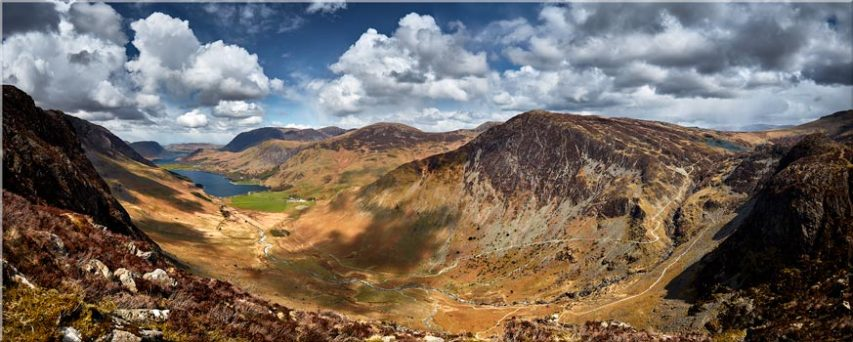 Fleetwith Pike and Buttermere Valley - Canvas Prints