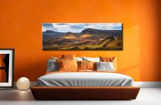Cleat and Dun Dubh Quiraing - Canvas Prints Print on Wall