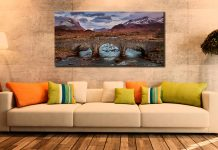 Glen Sligachan Bridge - Canvas Print on Wall