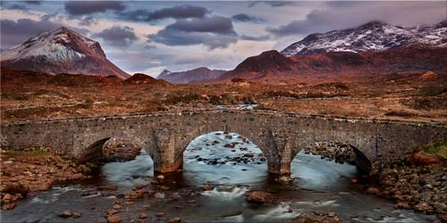 Glen Sligachan Bridge - Canvas Print