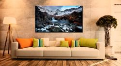 Spring Snow Fairy Pools - Canvas Print on Wall