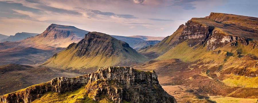 Trotternish Mountains Isle of Skye - Canvas Print