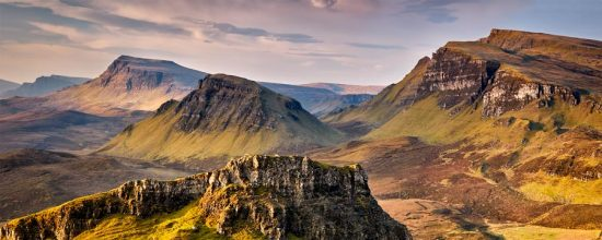 Trotternish Mountains Isle of Skye - Canvas Prints