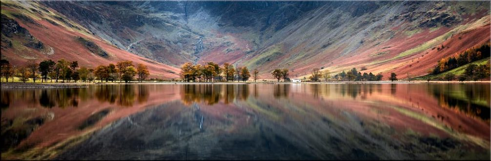 The Buttermere Bowl - Canvas Prints