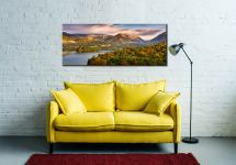 Grasmere Autumn Morning - Canvas Print on Wall