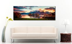 Derwent Water at Dusk - Canvas Print on Wall