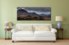 Scafell Mountains from Hardknott - Canvas Print on Wall