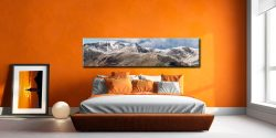 Helvellyn Mountains Panorama - Lake District Canvas on Wall