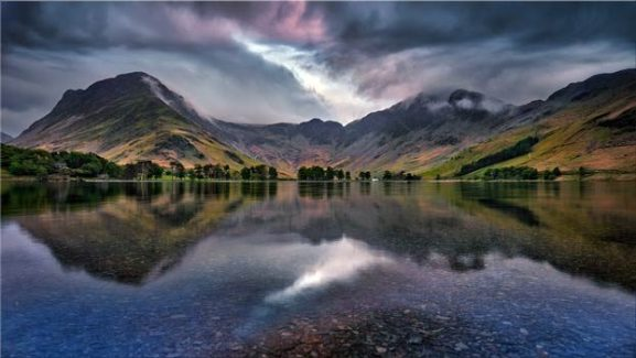 Buttermere Sky Rift - Lake District Canvas Print