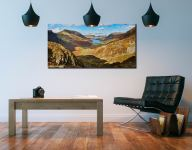 The Buttermere Valley - Canvas Print on Wall
