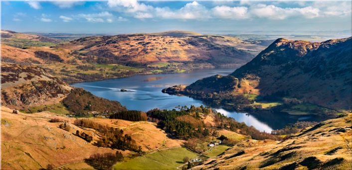 Ullswater From Harrison Crag - Canvas Print
