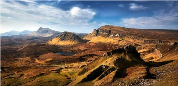 The Quiraing Range - Canvas Print