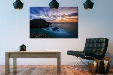 Strumble Head Lighthouse Seascape - Canvas Print on Wall