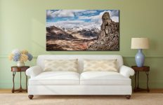Eskdale Needle in Winter - Canvas Print on Wall
