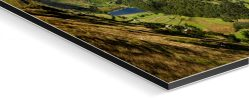 Deepdale and Dovedale Panorama - Glossy Fuji print on  Aluminium Dibond