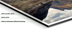 Dusk Over Blea Tarn – Framed Print - Fuji print under glossy acrylic glass on Aluminium dibond backing