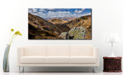 Grisedale Tarn in the Morning Sunshine - Canvas Print on Wall