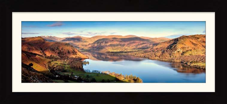 Morning Light on Ullswater - Framed Print