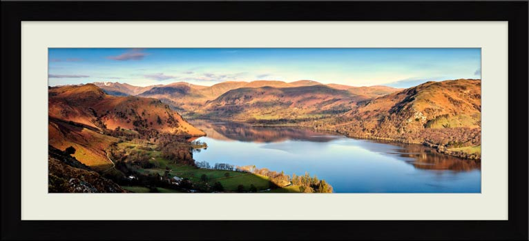 Morning Light on Ullswater - Framed Print