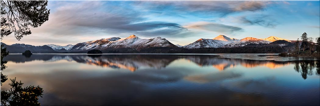 Cat Bells from Friars Crag - Canvas Prints