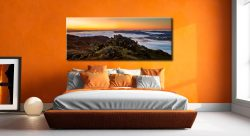 Lakes Under a Blanket - Canvas Print on Wall