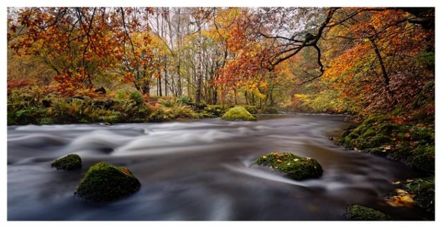 Autumn Colours of River Rothay - Lake District Print