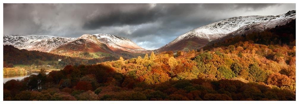 Autumn Fades Over Grasmere - Lake District Print