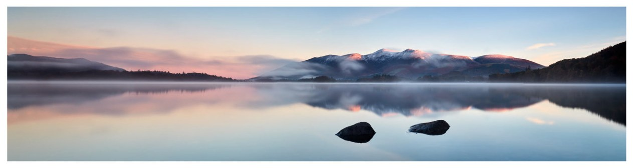 A New Day Dawns at Derwent Water - Lake District Print