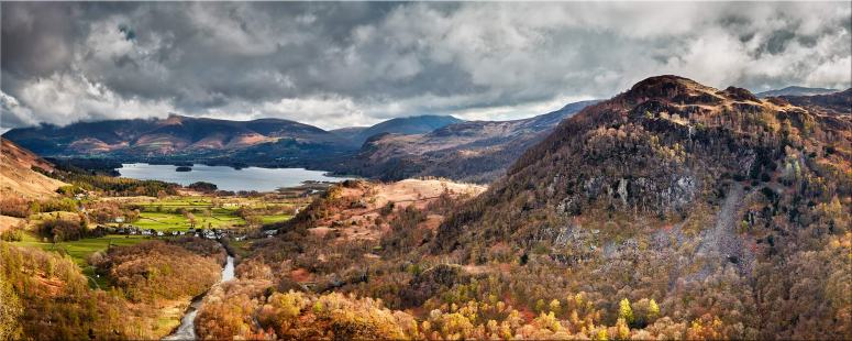 Kings How and Derwent Water - Canvas Prints