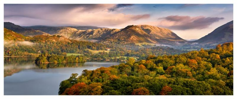 Grasmere Autumn Morning - Lake District Print