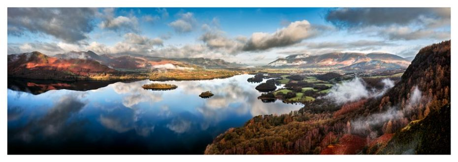 Derwent Water Morning Mists - Lake District Print
